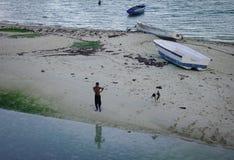 Seascape Mauritius wyspa Obraz Royalty Free