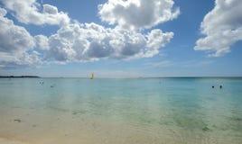 Seascape Mauritius wyspa fotografia stock