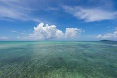 Seascape Miyako wyspa Zdjęcie Royalty Free