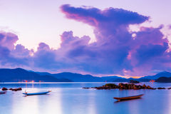 Seascape during morning Stock Image