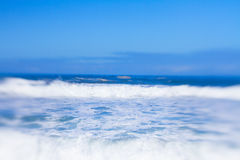 Seascape with motion Royalty Free Stock Photography