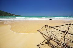 seascape naiyang пляжа Стоковые Фото