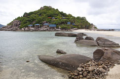Seascape of nangyuan island Royalty Free Stock Image