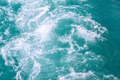 Seascape. Nature sea background. Selective focus Royalty Free Stock Image