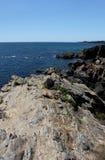 Seascape near Le Pouldu, Brittany, France Stock Photos