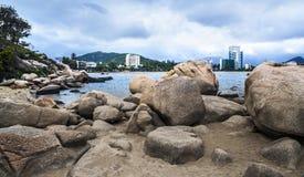 Seascape, Nha Trang, Vietnam. Royalty Free Stock Image