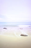 Seascape no alvorecer, pastels Foto de Stock Royalty Free
