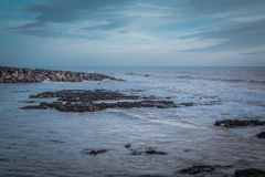 Seascape no sul de Inglaterra Imagens de Stock Royalty Free