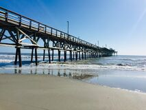 Free Seascape, North Myrtle Beach, South Carolina Royalty Free Stock Images - 193574609