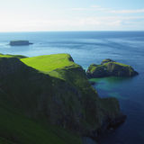 Seascape, Northern Ireland. Seascape in County Antrim, Northern Ireland royalty free stock photos