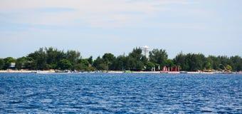 Seascape острова Lombok, Индонезии стоковое фото rf