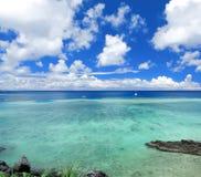 Seascape in okinawa japan Royalty Free Stock Photo
