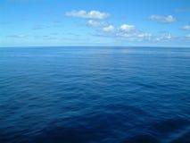 Seascape : Open sea to the horizon royalty free stock photography