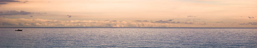Seascape panorama Royalty Free Stock Photos