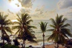 Seascape panorama Stock Image