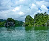 Seascape panorama Royalty Free Stock Photos