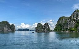 Seascape panorama Royalty Free Stock Photography