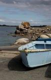 Seascape perto de Pointe de Trevignon Fotografia de Stock