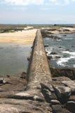 Seascape perto de Pointe de Trevignon Imagem de Stock