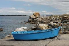 Seascape perto de Pointe de Trevignon Imagem de Stock Royalty Free