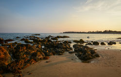 Seascape of Phan Thiet, Vietnam Royalty Free Stock Images