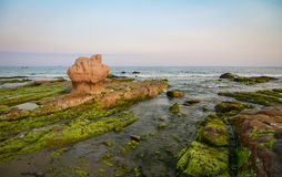Seascape of Phan Thiet, Vietnam Royalty Free Stock Photo