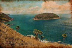 Seascape of phuket island Royalty Free Stock Photo