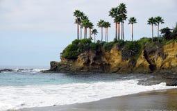 Seascape podczas zmierzchu Piękny naturalny seascape w summe Obraz Royalty Free