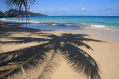 Seascape, praia de Surin, Phuket Foto de Stock Royalty Free