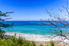 Seascape Puerto Vallarta, Мексики Стоковая Фотография RF