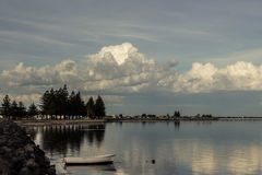 Seascape - quebra-mar de MacDonnell do porto Fotografia de Stock Royalty Free