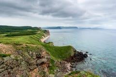 Seascape Rússia Primorsky Krai Imagens de Stock Royalty Free