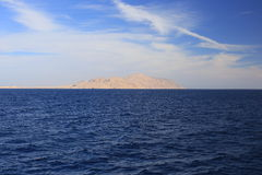 Red sea and Tiran island Royalty Free Stock Photos