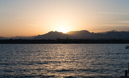 Seascape of the Red Sea Royalty Free Stock Photos
