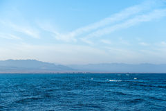 Seascape of the Red Sea Stock Photo