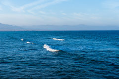 Seascape of the Red Sea Royalty Free Stock Photo