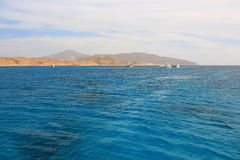 Seascape, Red sea Stock Image
