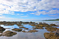 Seascape of reef Stock Photo