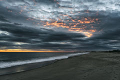 Seascape in Rhode Island. USA Stock Images