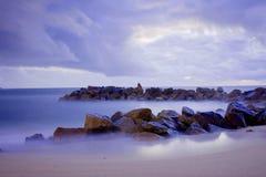 Seascape rochoso Imagens de Stock Royalty Free