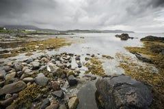 Seascape with rocks Stock Photos