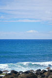 Seascape of rocky coast Royalty Free Stock Image