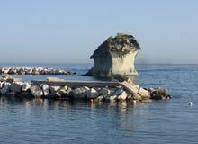 Seascape rom Casamicciola Terme, Ischia, Włochy Obrazy Stock