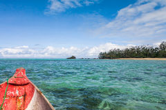 Seascape of Sainte Marie Island Royalty Free Stock Image