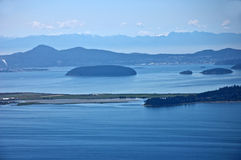 Seascape San Juan Islands, WA Royalty Free Stock Photography