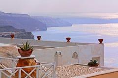 seascape santorini της Ελλάδας Στοκ εικόνα με δικαίωμα ελεύθερης χρήσης