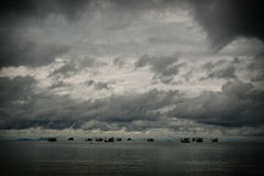 Free Seascape - Sea, Beach, Waves, Sky, Clouds Stock Image - 18266441