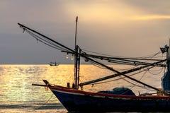 Seascape. Sea sunrise and Blue sky Stock Image
