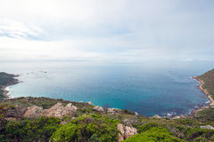 Seascape simonstown south africa Royalty Free Stock Photo