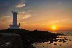 Seascape Sinchang wiatraczka wybrzeże zdjęcia stock